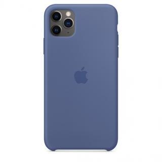 Originální kryt Silicone Case pro Apple iPhone 11 Pro Max, modrá