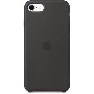 Originální kryt Silicone Case pro Apple iPhone SE, černá