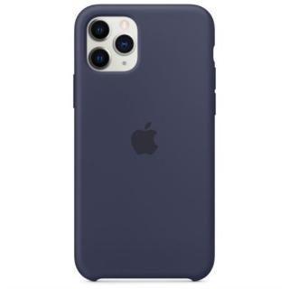 Originální silikonový kryt MWYJ2ZM/A pro Apple iPhone 11 Pro, midnight blue