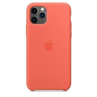 Originální silikonový kryt MWYQ2ZM/A pro Apple pro iPhone 11 Pro, clementine