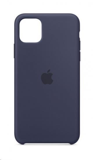 Originální silikonový kryt MWYW2ZM/A pro Apple iPhone 11 Pro Max, midnight blue