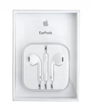 Originální sluchátka Apple iPhone EARPODS MD827