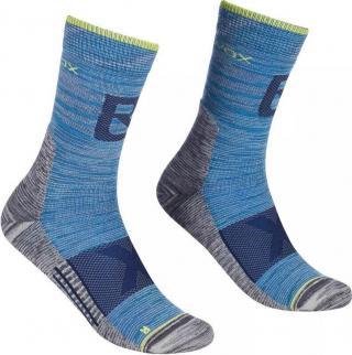 Ortovox Alpinist Pro Compression M Ponožky pánské Blue 42