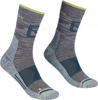 Ortovox Alpinist Pro Compression M Ponožky pánské Grey 45
