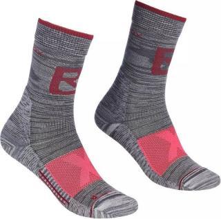 Ortovox Alpinist Pro Compression W Ponožky dámské Grey 42