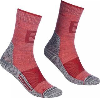 Ortovox Alpinist Pro Compression W Ponožky dámské Red 39