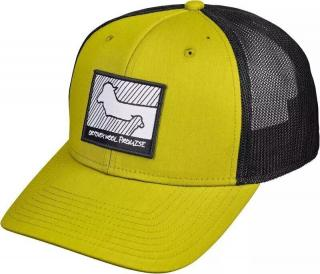 Ortovox Wool Promise Trucker Cap Dirty Daisy 58cm pánské Yellow