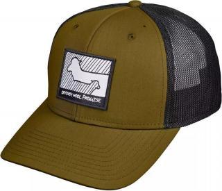 Ortovox Wool Promise Trucker Cap Green Moss 58cm pánské
