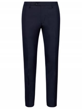 Oscar Jacobson Společenské kalhoty Diego 5115 8515 Tmavomodrá Regular Fit pánské 48