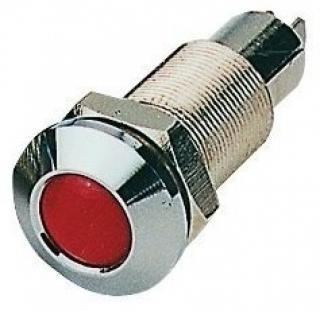 Osculati Kontrolka do panelu přístrojů červená