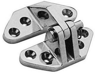 Osculati Masívní nerezový pant 67x73mm