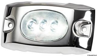 Osculati Podvodní LED světlo pro trup / Transom bílé Silver