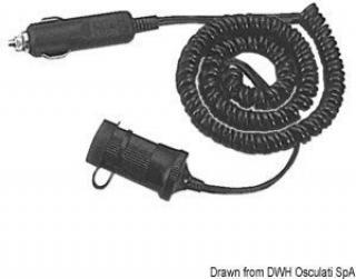 Osculati Prodlužovací zapaľovačový kabel 12V 3,6m