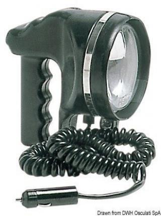 Osculati Ruční vyhledávací světlomet 12 / 24V / 55W Black