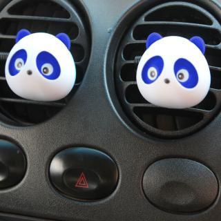 Osvěžovač vzduchu do auta - Panda - 2 ks Barva: modrá