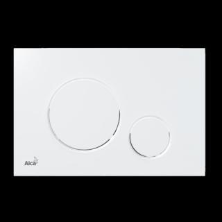 Ovládací tlačítko Alcaplast plast bílá lesk M670 bílá bílá