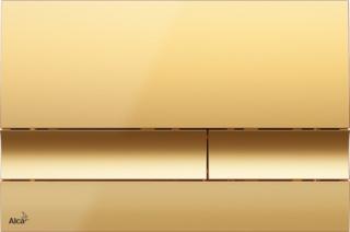 Ovládací tlačítko Alcaplast plast zlatá lesk M1725