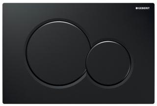 Ovládací tlačítko Geberit Sigma plast černá lesk 115.770.DW.5 černá černá