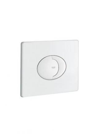 Ovládací tlačítko Grohe Skate Air plast alpská bílá 38506SH0 bílá alpská bílá