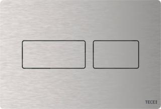Ovládací tlačítko TECE Solid kartáčovaná nerez 9240430