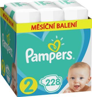 PAMPERS Active Baby jednorázové pleny vel. 2, 228 ks, 4-8 kg modrá