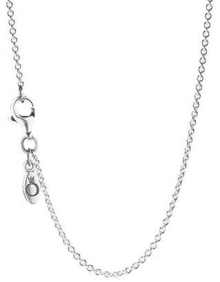 Pandora Jemný stříbrný řetízek 590412 45 cm