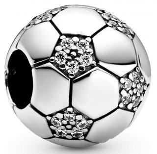 Pandora Stříbrný korálek Fotbalový míč 798795C01