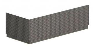 Panel k vaně Polysan DUPLA akrylát 13919R bílá