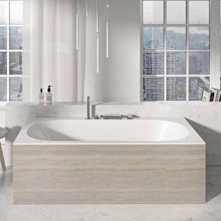 Panel k vaně Ravak City 180 cm akrylát dřevo X000001107