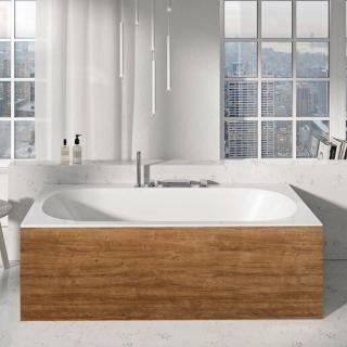 Panel k vaně Ravak City 180 cm akrylát dub X000001060