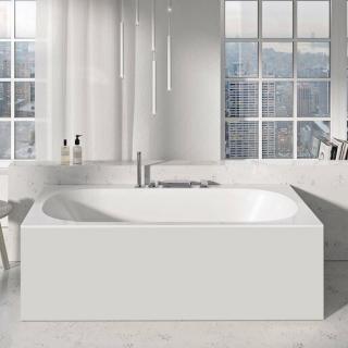 Panel k vaně Ravak City 180 cm akrylát X000001059 bílá