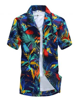 Pánská havajská košile - 2 varianty Velikost: S, Varianta: 1