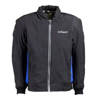 Pánská Softshell Moto Bunda W-Tec Langon Nf-2753  Černo-Modrá  Xl XL