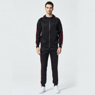Pánská tepláková souprava - Mikina a kalhoty - 3 barvy Barva: černá, Velikost: XXS