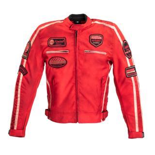 Pánská Textilní Bunda W-Tec Patriot Red  Červená  L L