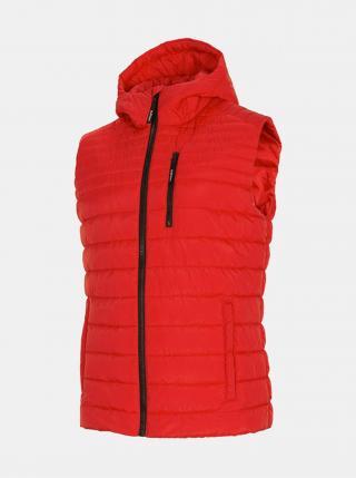 Pánská vesta Outhorn KUMP600  Červená pánské M