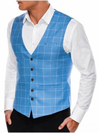 Pánská vesta V50 - tmavě nebesky modrá pánské S