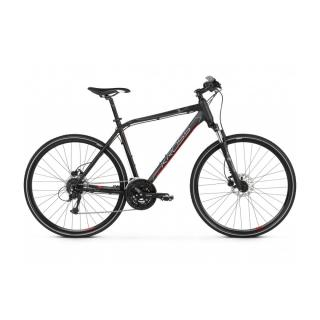 Pánské crossové kolo Kross Evado 5.0 28 - model 2021 černo