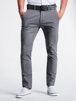 Pánské kalhoty Ombre Chinos pánské Grey XL