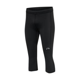 Pánské kompresní kalhoty 3/4 Newline Core Knee Tights Men  černá S