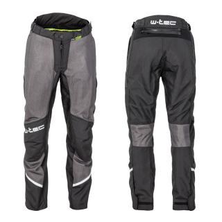 Pánské Letní Moto Kalhoty W-Tec Alquizar  Black-Grey  M M