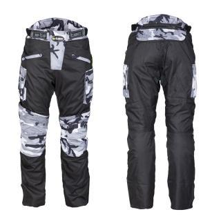 Pánské Moto Kalhoty W-Tec Kaamuf  Black Camo  S S