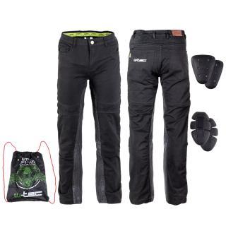 Pánské Moto Kalhoty W-Tec Raggan  Černá  S S