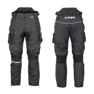 Pánské Moto Kalhoty W-Tec Thollte  Black  S S