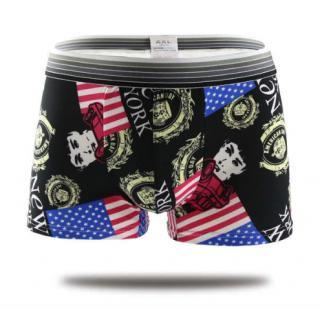 Pánské stylové boxerky s potiskem USA Velikost: XS