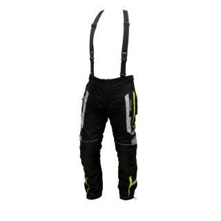 Pánské Textilní Moto Kalhoty Spark Mizzen  Černá-Fluo  S S