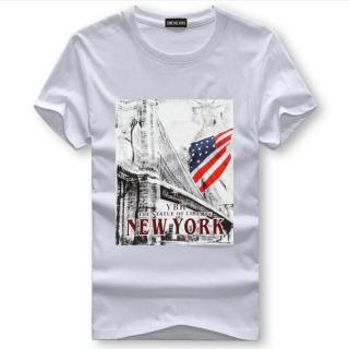 Pánské tričko s potiskem Valdor - bílé