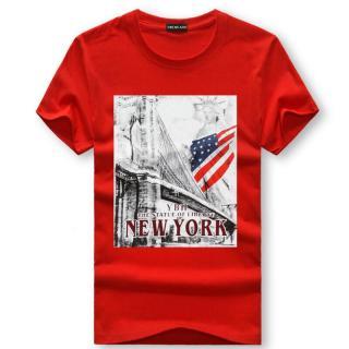 Pánské tričko s potiskem Valdor - červené