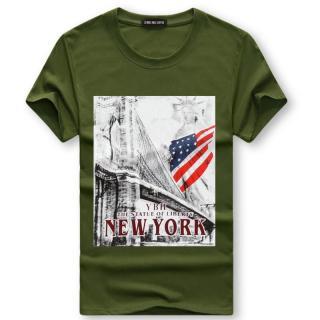 Pánské tričko s potiskem Valdor - zelené
