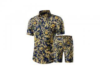 Pánský luxusní set - Košile a kraťasy Velikost: XS